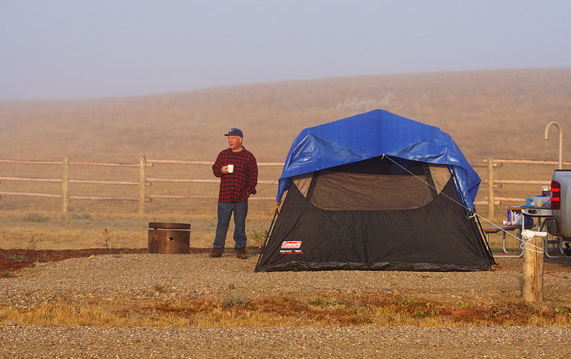 Camp ground at Grasslands